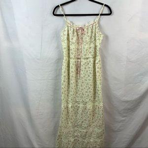 Victoria's secret floral print nite gown M